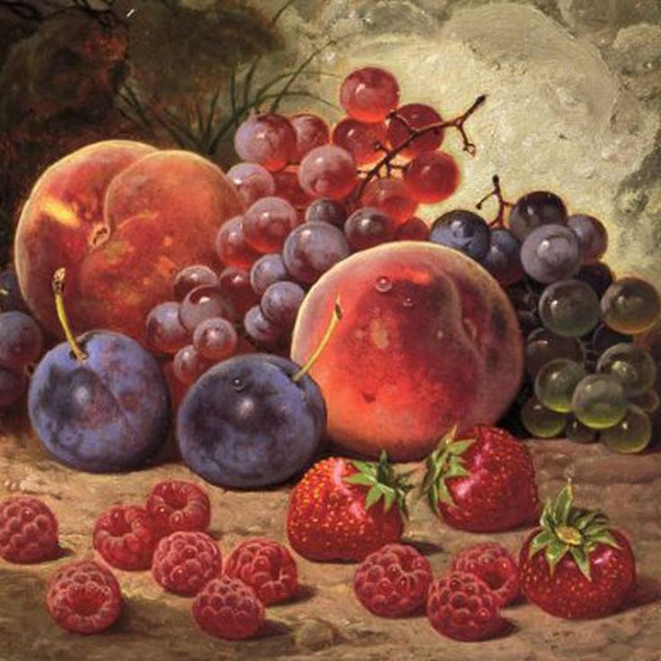Fresh fruits painting | art inspiration