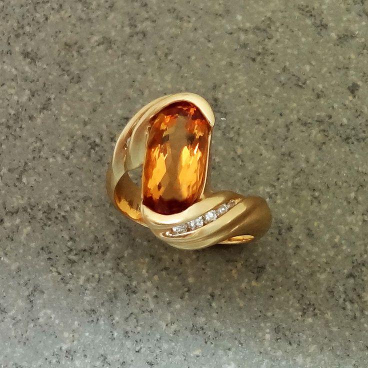 26 best Unique Gold Rings images on Pinterest