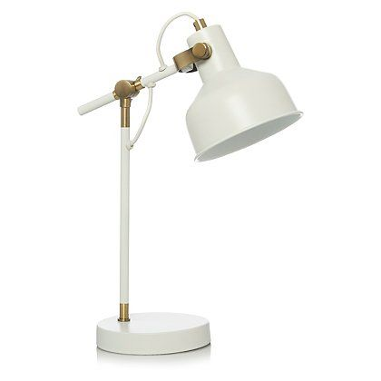 George Home Cream Desk Lamp | Home & Garden | George at ASDA
