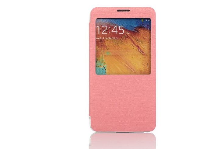 OEM Θήκη Smart Cover Preview (Flip Case) - Ροζ (Galaxy Note 3) - myThiki.gr - Θήκες Κινητών-Αξεσουάρ για Smartphones και Tablets - Χρώμα ροζ