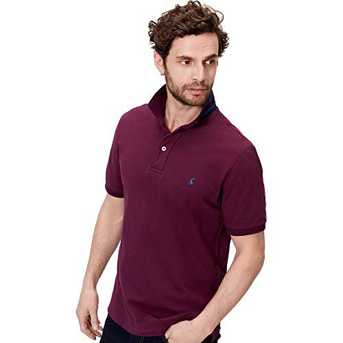 Joules Mens Woody Classic Fit Soft Cotton Polo Shirt