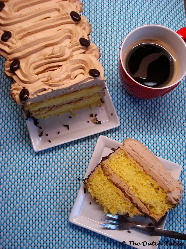 The Dutch Table: Mokkataart (Dutch Mocca Cake)