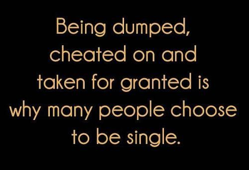 Christian dating being dumped
