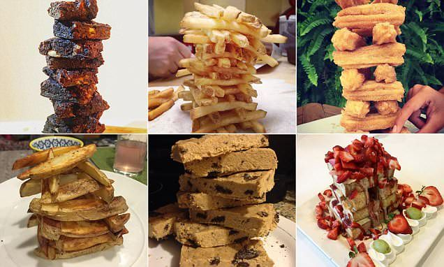 Food Jenga Where Meals Are Turned Into Towers Is A New Instagram