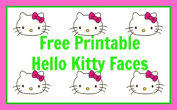 Hello Kitty Garden Party (Free Printable too!) - Meet Penny