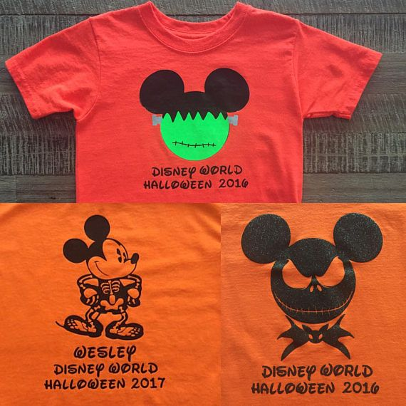 Disney Halloween Shirt Ideas.Disney Group T Shirt Ideas
