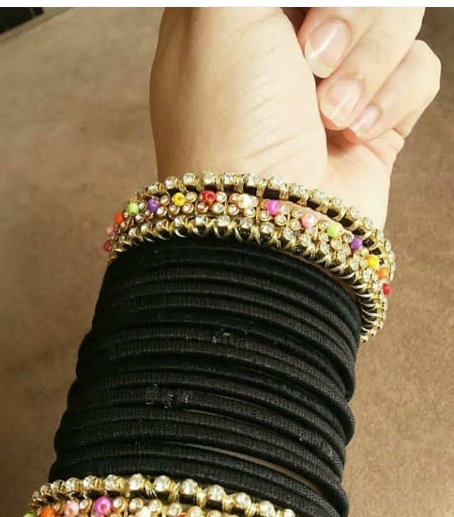 Black Bangles Bangles Jewelry Designs Jewelry Design