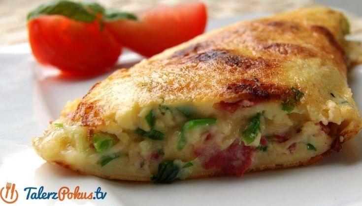 Omlet z salami #smakpodlasia #salami #tradycyjnewedlizy #zdrowazywnosc #skleponline #przepisy #omlet