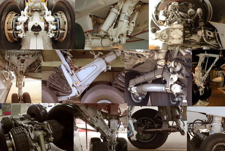 Hard Surface Enthusiast: Aircraft Landing Gear No. 1 - Curated by Paul Pepera