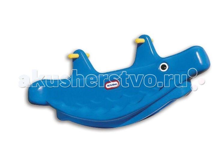 Качалка Little Tikes Кит 4879L  Качалка Little Tikes Кит 4879L - используется для игры детей на открытом воздухе и в помещении.   Качалка оборудована широкими сиденьями, подставкой для ног и удобными ручками.  Одновременно на ней могут расположиться от 2-х до 3-х человек.