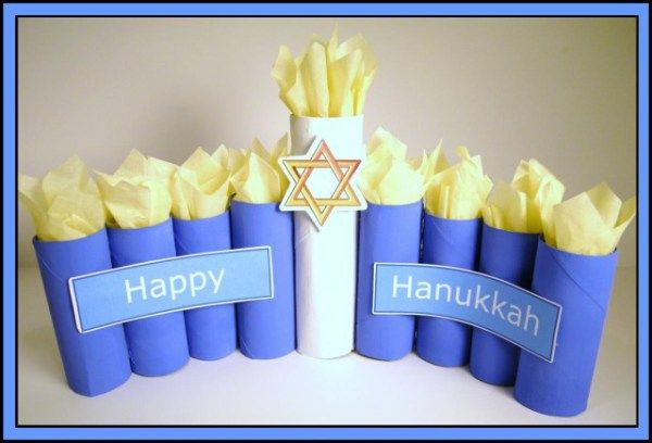10 Simple Hanukkah Crafts for Kids