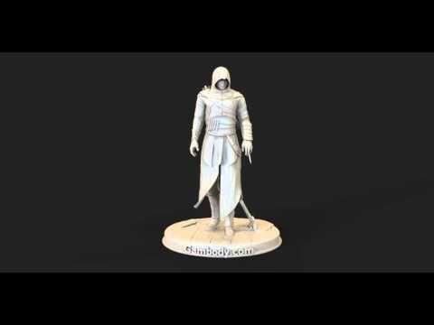 3D Model of Assassin from Assassin's Creed - Gambody #assasin #3dmodels
