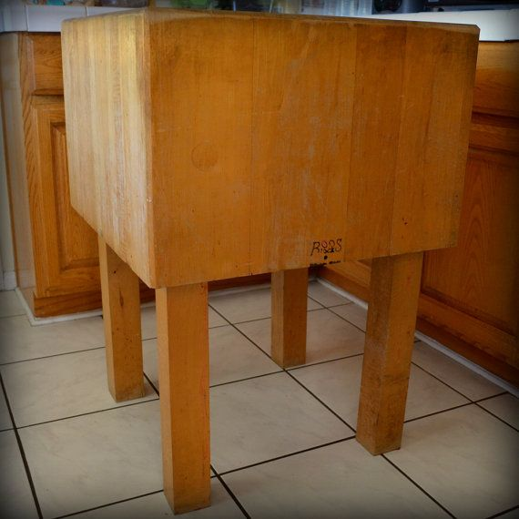 39 Best Images About Butcher Block Tables On Pinterest