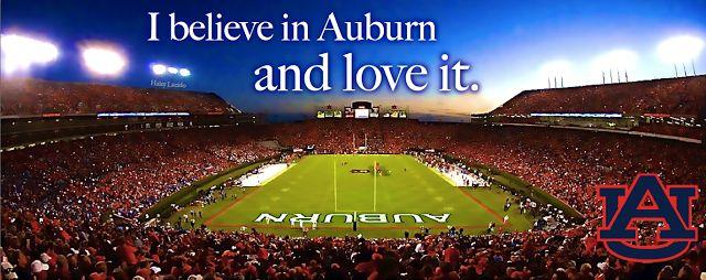Live, Love, in Alabama: My Auburn Football Prayer.