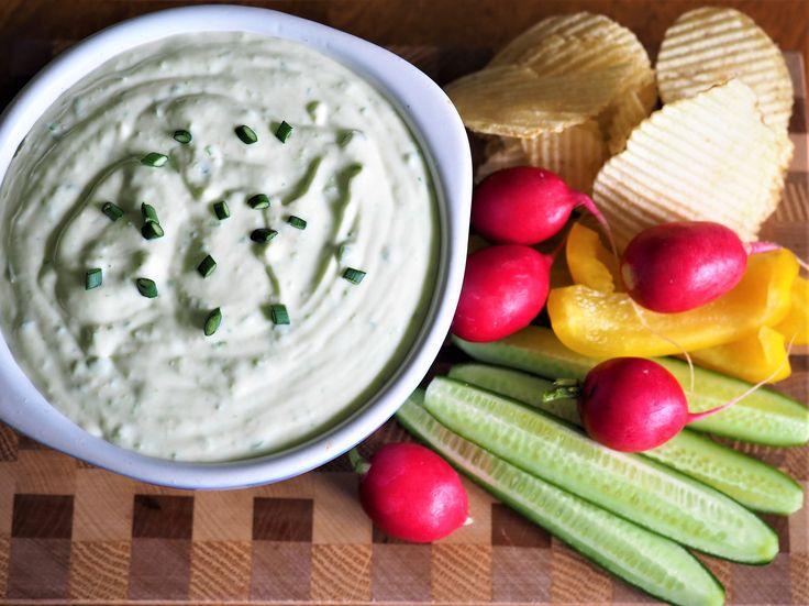 Green Garlic Havarti Dip
