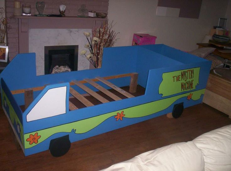 Scooby Doo Too Unique Novelty Beds Single Size Toddler
