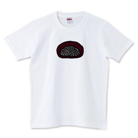 そこには何かいるモン!? in おはぎ Illustrated by ショウタロー #Tシャツ #tshirts #イラスト #デザイン #おはぎ #ohagi