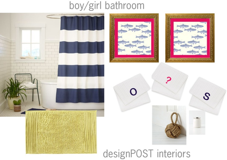 Boy S Bathroom Decorating Pictures Ideas Tips From: 1000+ Ideas About Boy Girl Bathrooms On Pinterest