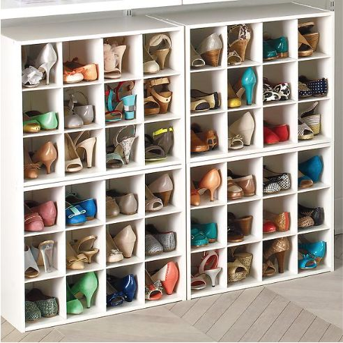 Melamine Shoe Cubes (4)