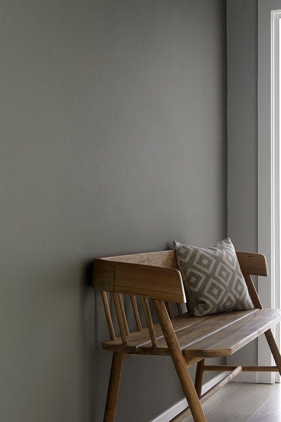 Grey Moss 234 - Little Greene paint.                                                                                                                                                                                 More