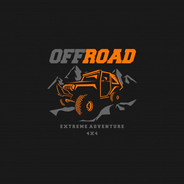 Offroad Logo Vector Garage Logo Jeep Art Jeep Stickers