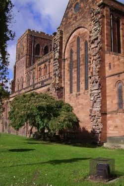 Shrewsbury Abbey(England)