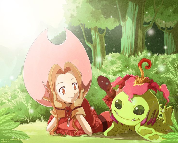 I remember when I used to watch Digimon...seems like forever ago. Mimi was always my favorite because I liked her pink hat :)
