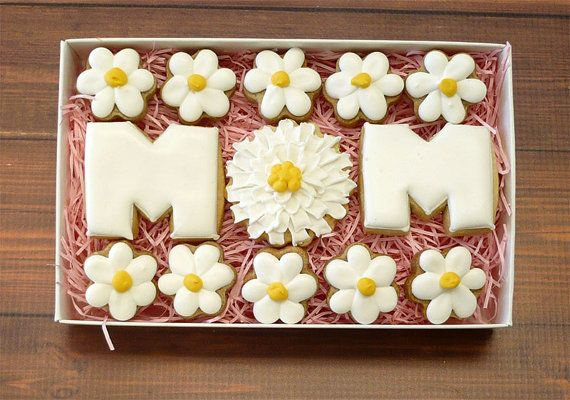 Decorated Cookies Mother's Day Gift Box by katieduran on Etsy