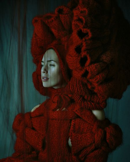 Sandra Backlund: Sandra Backlund, Knitwear, Fashion, Inspiration, Red, Knitting, Crochet, Textile, Knits