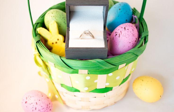 Easter, Engagement Ring, Easter Basket Gift