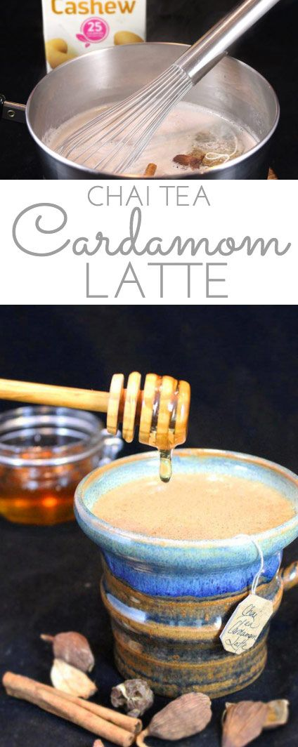 Honey Chai Cardamom Tea Latte: a silky smooth, comforting latte for the colder winter months. Chai tea, black cardamom, Silk Cashewmilk and honey simmer together, creating a uniquely healthy and indulgent mugful of spicy delicious! #SameSilkySmoothTaste #AD @Walmart @LoveMySilk