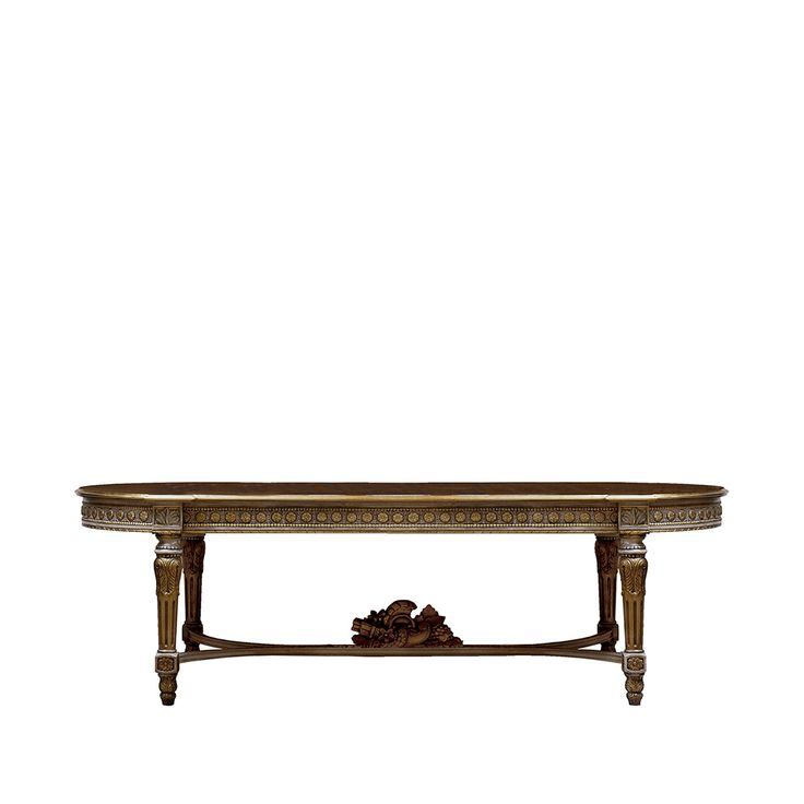 199 best comedores clasicos rectangulares images on for Exclusive dining table designs