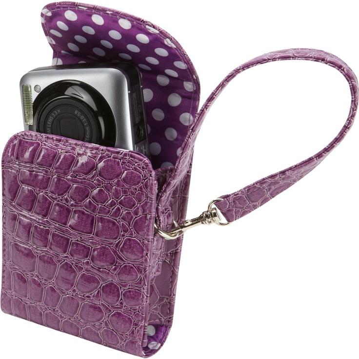 Amazon.com: Caselogic MICF-101Purple Women's Trend Case for Camera (Purple): Electronics