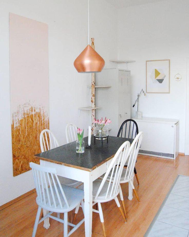die besten 25 leuchte esstisch ideen auf pinterest. Black Bedroom Furniture Sets. Home Design Ideas