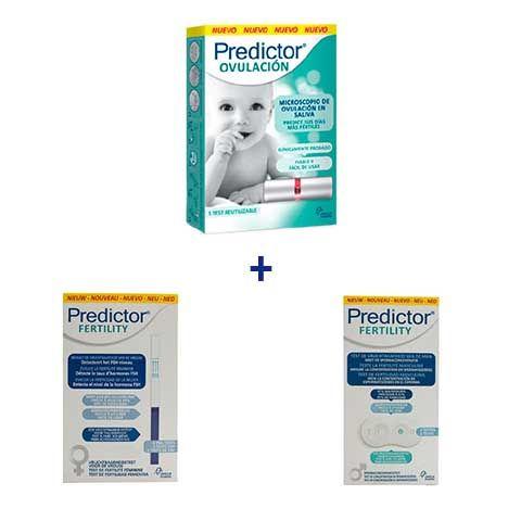 Predictor Test Ovulación + Test Fertilidad masculino y femenino