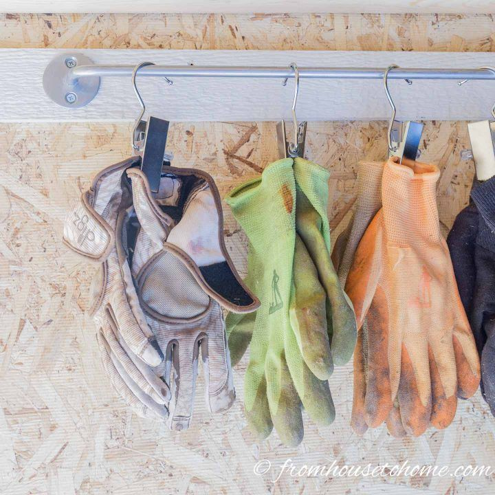 Shed Organization: 8 Easy and Inexpensive DIY Garden Tool Storage Ideas – Greenhouse oasis