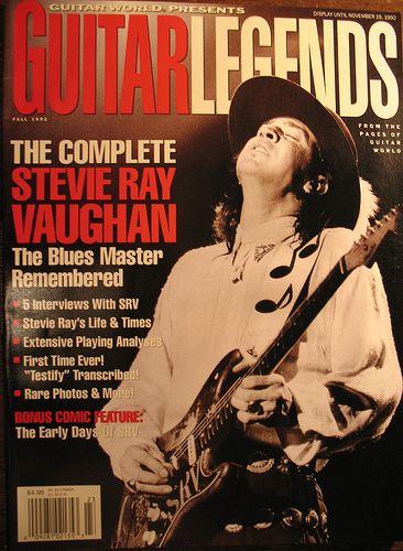 SRV - Guitar World cover - Stevie Ray Vaughan Fan Art (5101428) - Fanpop