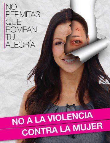 No a la violencia contra la mujer