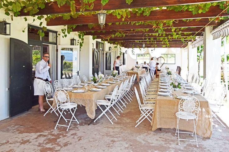 .: Bertus Basson cooks lunch at Vondeling wine estate, Voor Paardeberg