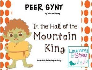 Peer Gynt- a music listening activity for children