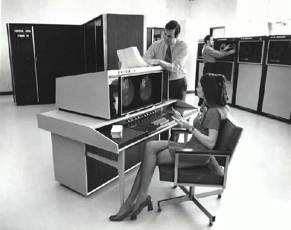 Office of the future, circa 1968 - Imgur