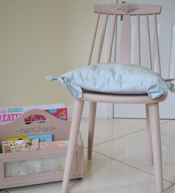 Upcycle an old chair with Frenchic furniture paint