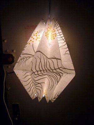 unique lanterns: Lanterns Ideas, Paper Lanterns, Diy Crafts, Origami Lampshades, Paper Light, Lanterns Diy, Paper Ideas, Paper Crafts, Diy Paper