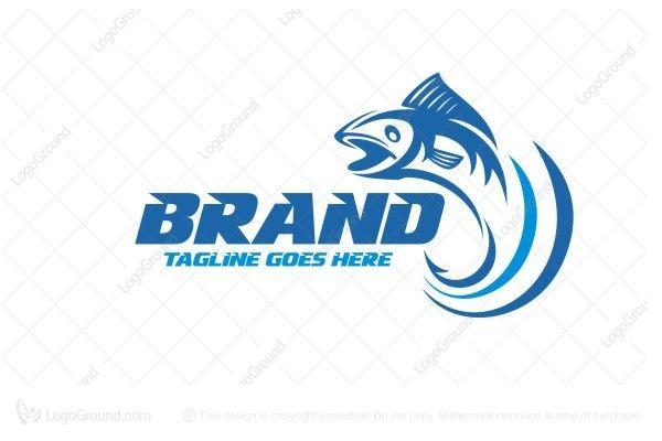 Logo for sale: Fishing League Logo