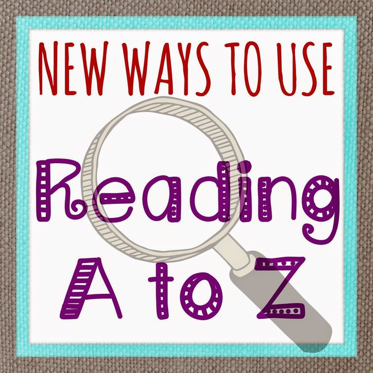 New Ways to Use Reading A to Z