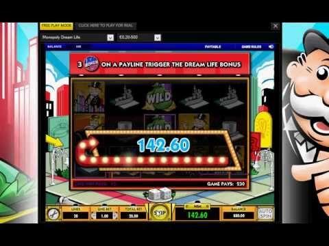 Monopoly Dream Life FREE Casino Euro Games and Bonuses