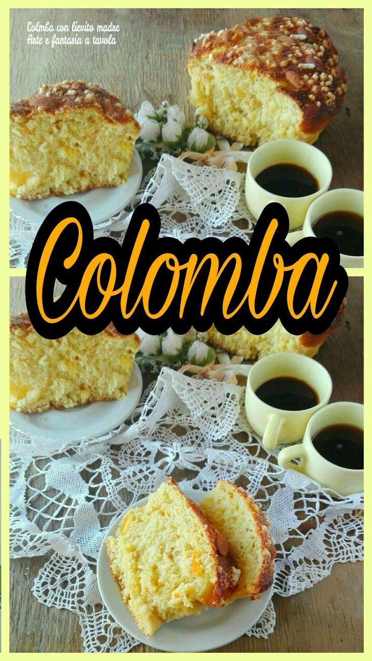 Quest'anno ho provato a realizzare la colomba con lievito madre Ora proviamoci insieme a preparare questo ottimo prodotto, la colomba! #colomba #pasqua #lievito madre #dolce