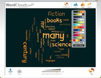 Word Cloud Generator by ABCya