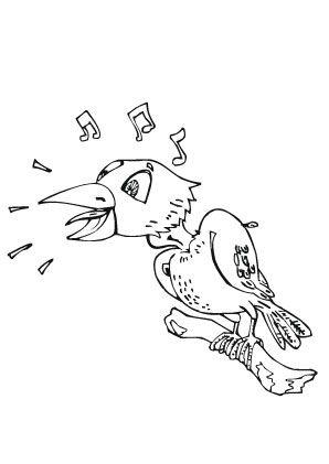 ausmalbild singvogel zum ausmalen. ausmalbilder | ausmalbildervögel | malvorlagen | ausmalen