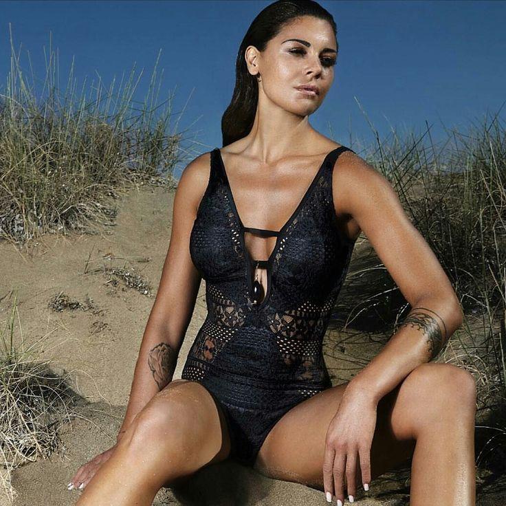 Bilitis Μαγιό Ολόσωμο Δαντέλα Deep Skin Μαύρο (C cup) – Tartora.gr
